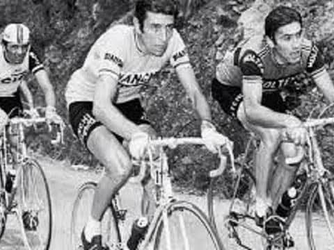 Felice Gimondi e il Cannibale Eddy Merckx