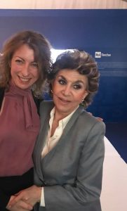 Floriana Bulfon con Franca Leosini