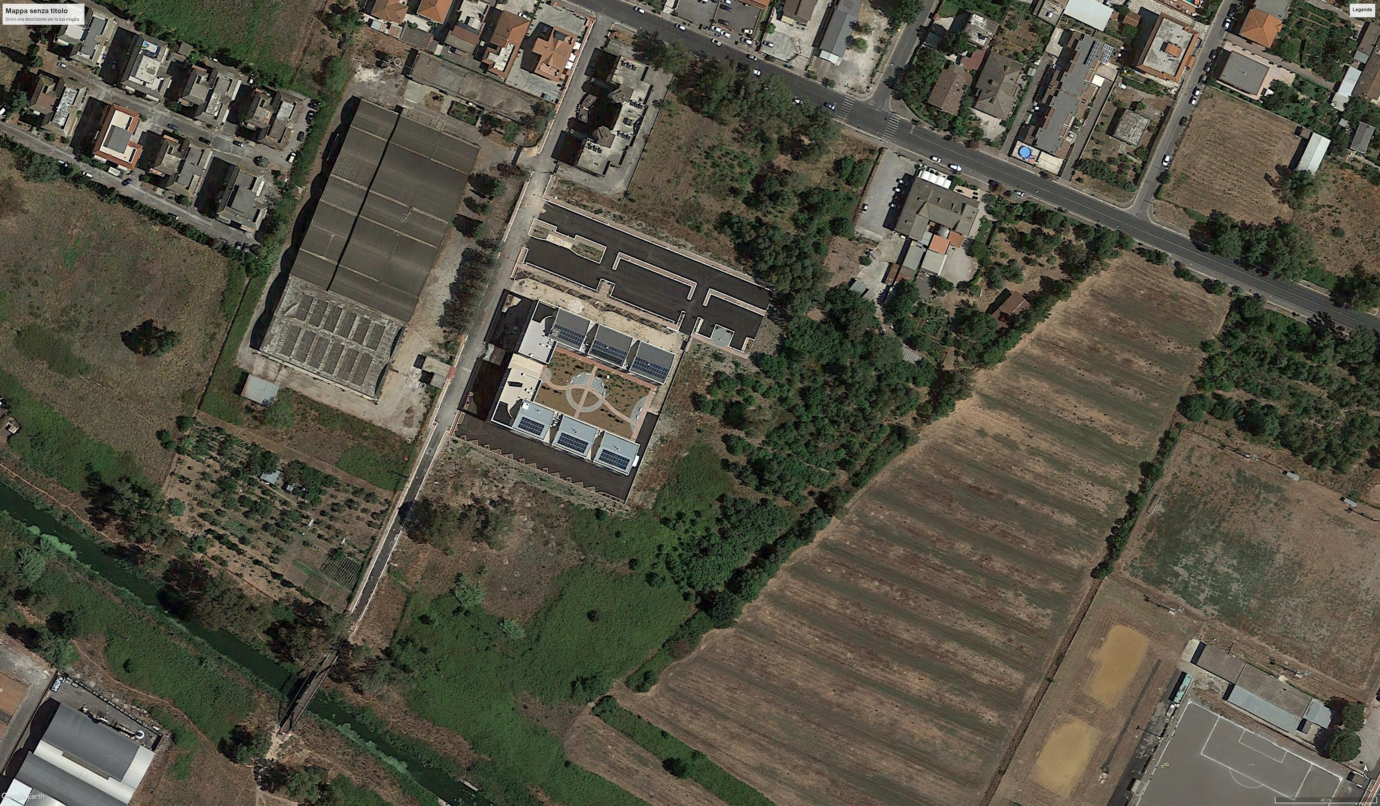 L'area dove dovrebbe nascere il parco di Porta Nord