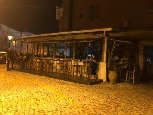 Locali svuotati a Gaeta vecchia