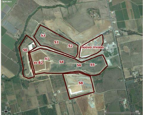 Mappa invasi Borgo Montello (2014 ARPA)