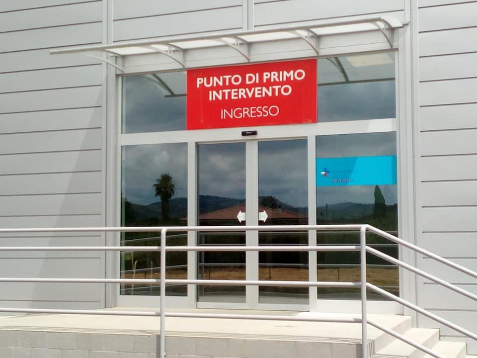 Il nuovo Punto di Primo Intervento di Priverno in Via della Madonna delle Grazie 23. Chiusa invece la vecchia struttura localizzata nell'ex Ospedale Regina Elena