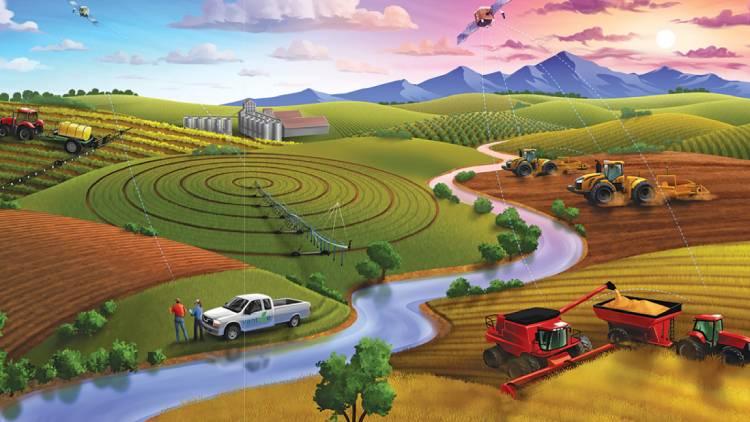 L'agricoltura di precisione è un modo per ottimizzare le risorse naturali nel perseguimento della sostenibilità ambientale ed economica
