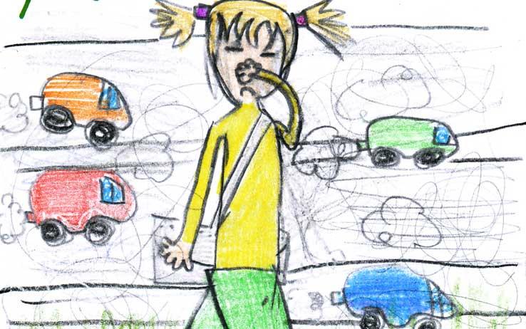 inquinamento outdoor nelle scuole