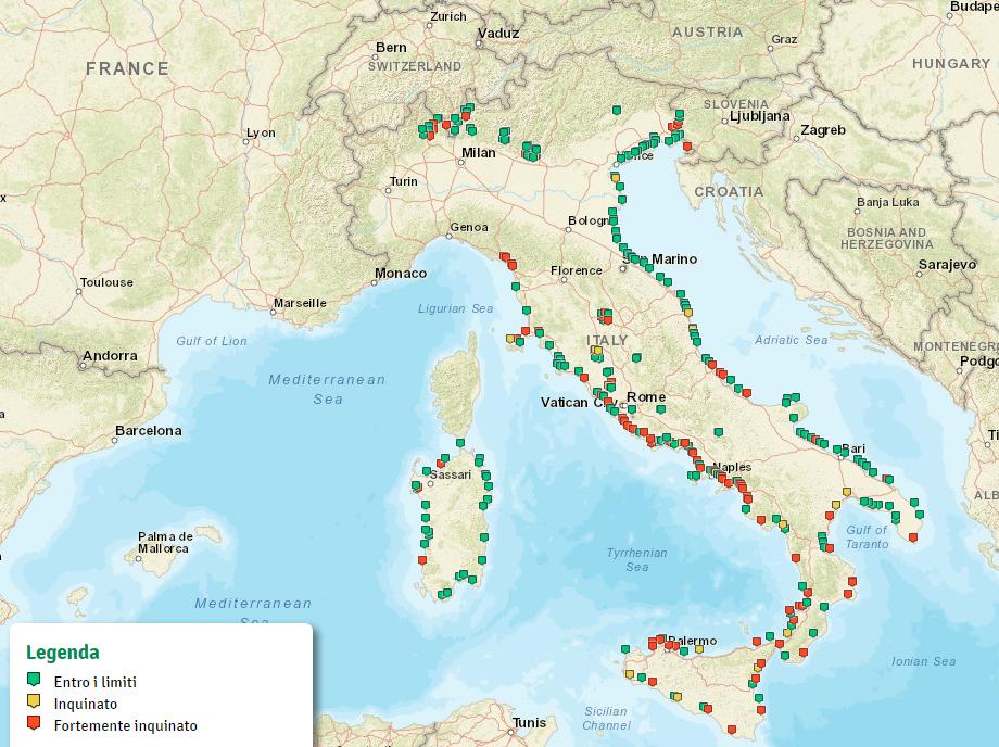 mappa di Goletta Verde