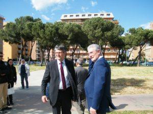 Claudio Moscardelli e Maurizio Mansutti