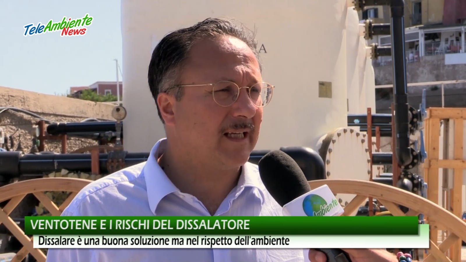 Gerardo Santomauro sindaco di Ventotene