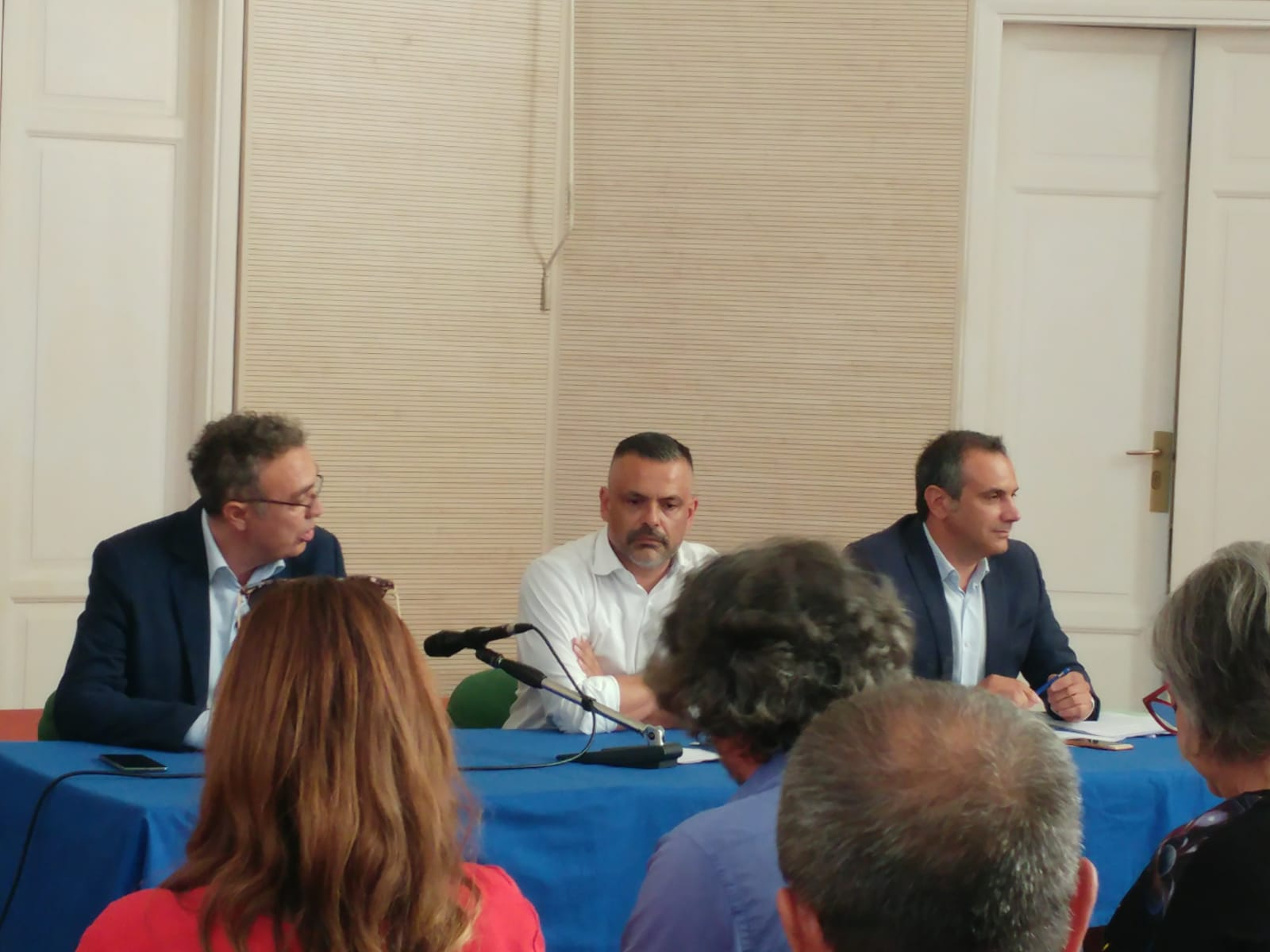 La conferenza stampa della Lega al Circolo Cittadino
