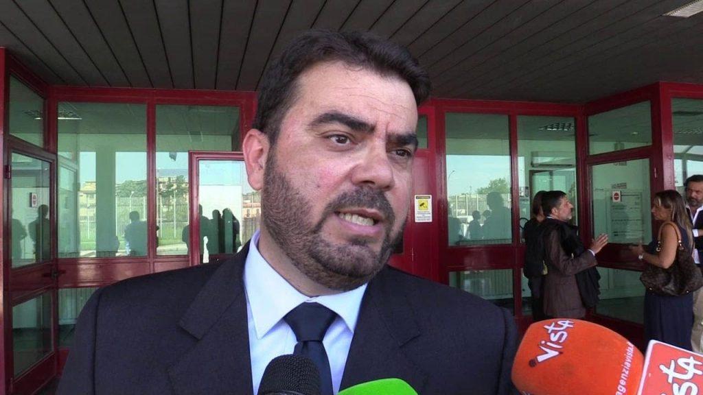 Avv. Prof. Giulio Vasaturo, legale del Comune di Aprilia come parte civile nel processo contro due esponenti della famiglia Gangemi