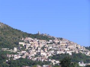 La cittadina di Pietravairano