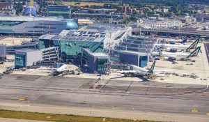 Aeroporto internazionale Leonardo da Vinci a Fiumicino di Roma