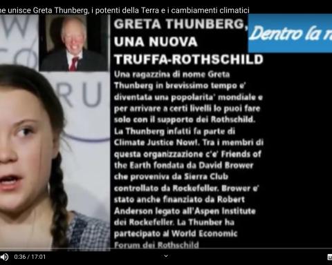 Greta Thunberg diffamata