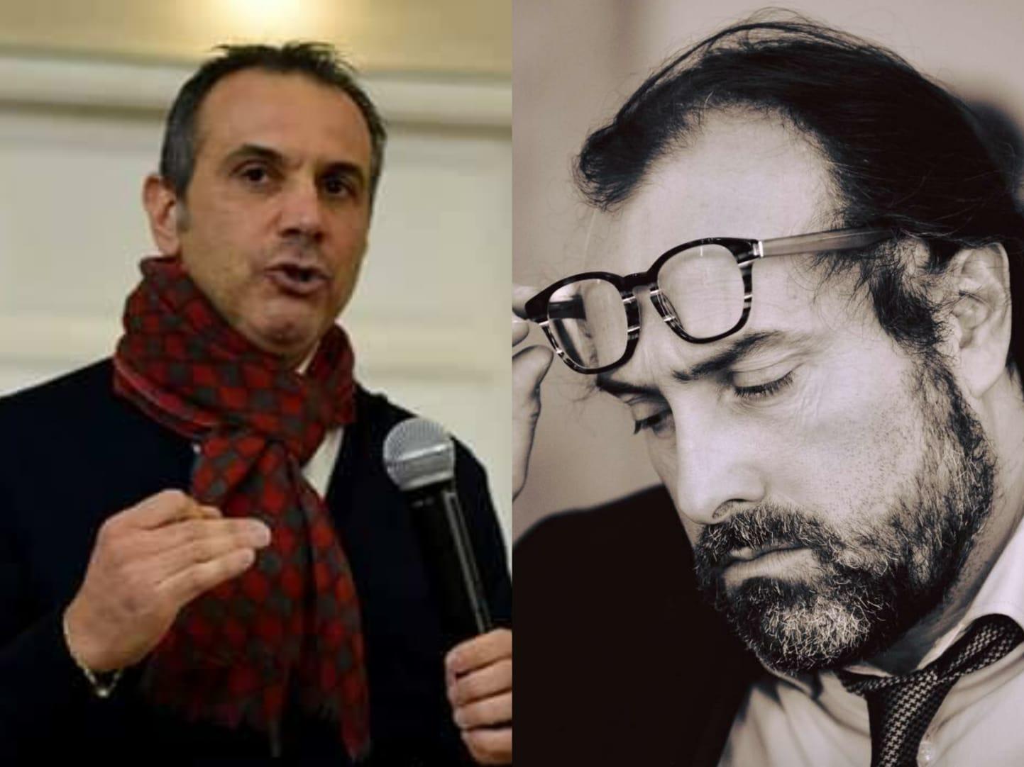 Massimiliano Carnevale e Fabio D'Achille, i protagonisti del caso Upper