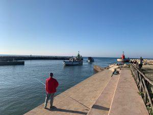 Barca arenata a Rio Martino (foto di Vinicio Sperati)