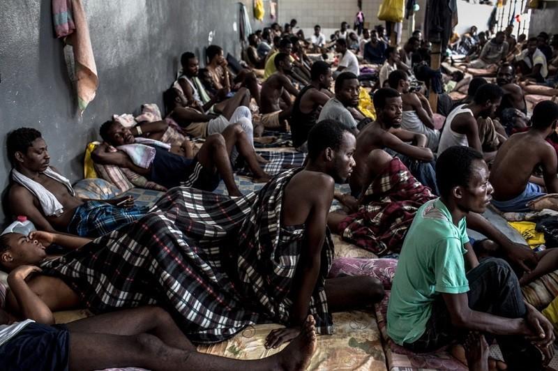 centro di detenzione in libia