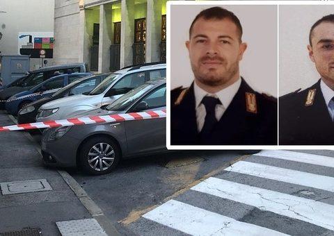 i due poliziotti uccisi nella questura di trieste