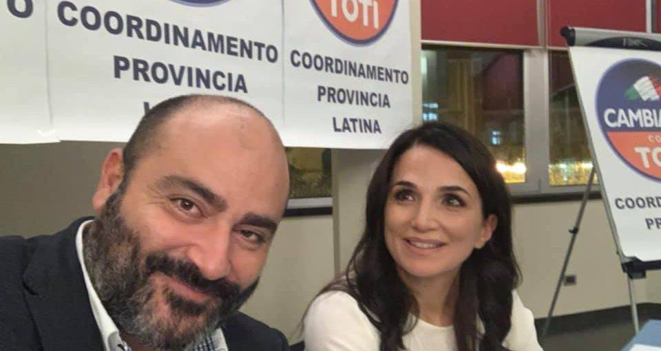 Adriano Palozzi e Gina Cetrone