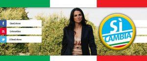 Gina Cetrone e la sua lista civica Sì Cambia che presentò alle Comunali di Terracina 2016