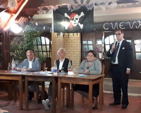 L'incontro che ha avuto luogo ieri presso il locale Cueva del Pirata di Borgo Grappa per discutere del Porto di Rio Martino