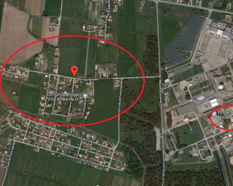 area generica di contaminazione di clorro di vinile a borgo sabotino, Latina
