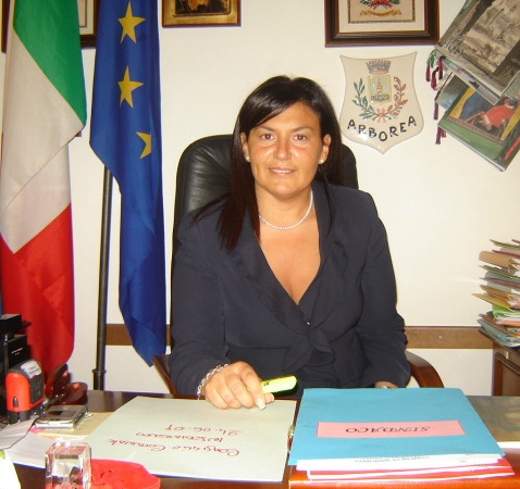 Giuseppina Giovannoli, Sindaco di Sermoneta