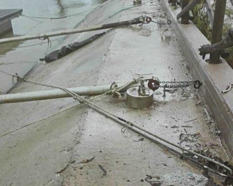 ormeggi danneggiati rio martino latina