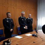 Conferenza stampa Carabinieri - Operazione Scudo