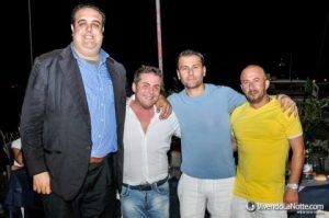 Da sinistra Antonio Fiorillo, Rocco Palazzo, Angelo Bardellino e Tommaso Desiato