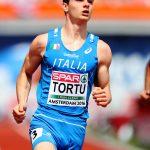 Filippo Tortu ai Campionati Europei di Amsterdam