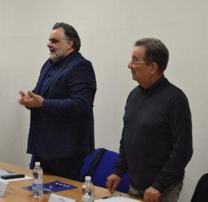 Luciano Iannotta (da sinistra)