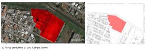 Il parco produttivo che sorgerà nell'area del campo sportivo di Campo Boario