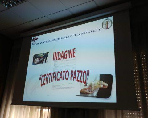 Indagine Certificato Pazzo