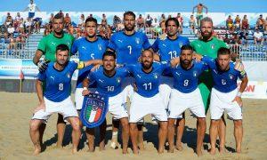La Nazionale italiana di beach soccer al Mondiale 2019