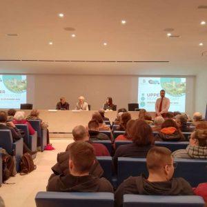 La presentazione del progetto Upper nella Sala De Pasquale del Comune di Latina (foto di Rita Palombi)