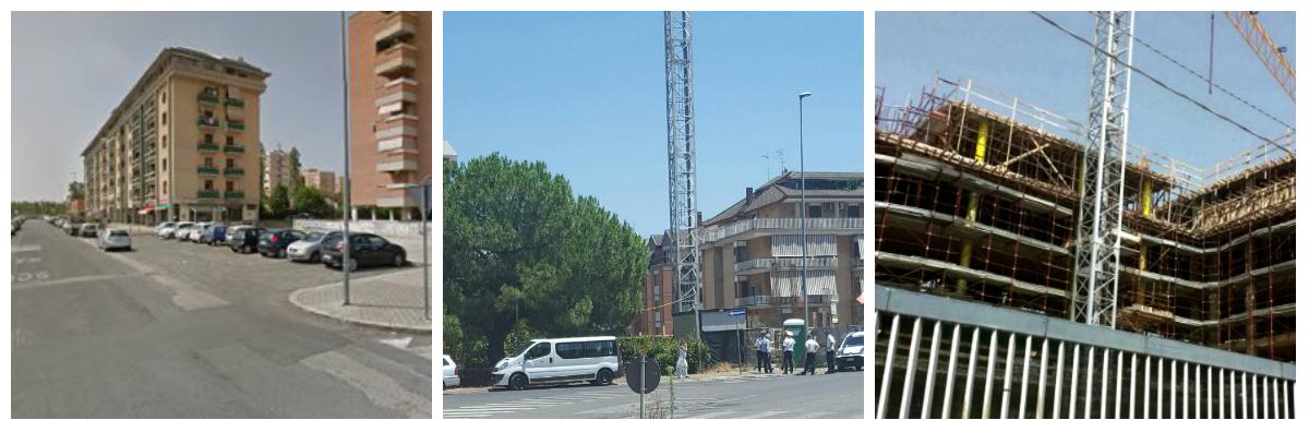 Le opere edilizie da demolire: Via Roccagorga, Via Quarto e Borgo Piave
