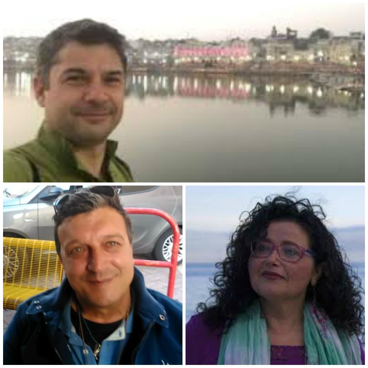 Raphael Rossi, Raffele Rizzo e Paola Villa