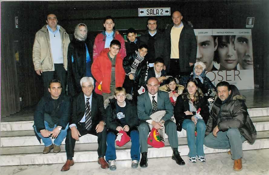 Una precedente edizione della Befana del Poliziotto a Latina - anno 2005 (foto da pagina Facebook Siulp