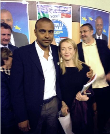 Pasquale Maietta e Giorgia Meloni
