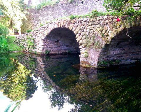 ponte del macello fiume ninfa