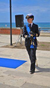 Comandante della Capitaneria di Porto di Terracina, Tenente di Vascello Emilia Denaro
