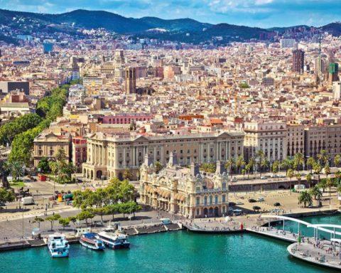 Un'immagine di Barcellona