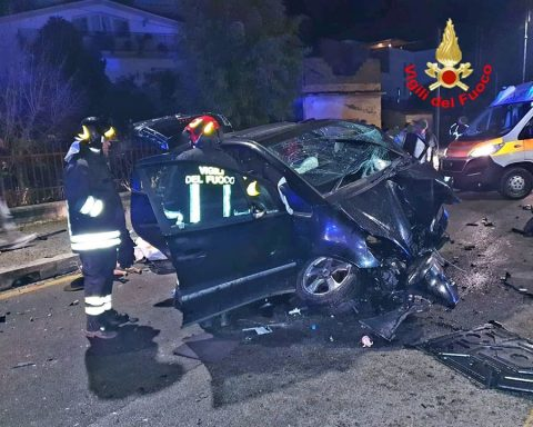 auto incidente Fondi