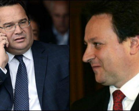 Claudio Durigon e Claudio Fazzone