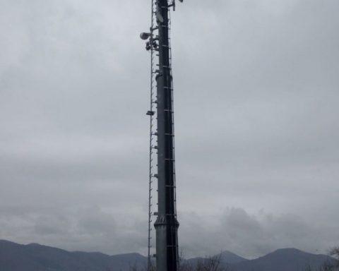 Lenola, antenna