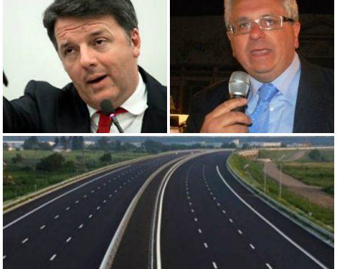 Matteo Renzi e Raniero De Filippis