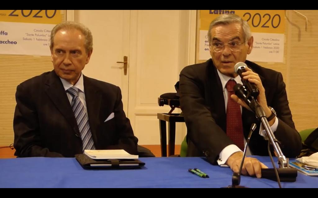 Silvano Moffa e Vincenzo Zaccheo