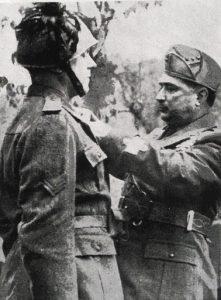 Taddeo Orlando quando ricopriva la carica di Ministro della Guerra