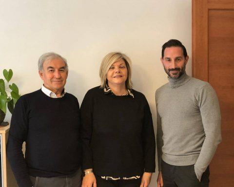 Gerardo Melchionna, Maria Innamorato e Andrea Santilli