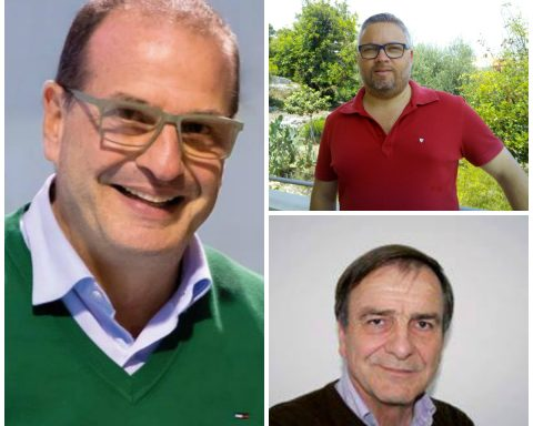 Cosmo Mitrano, Emiliano Scinicariello e Franco De Angelis
