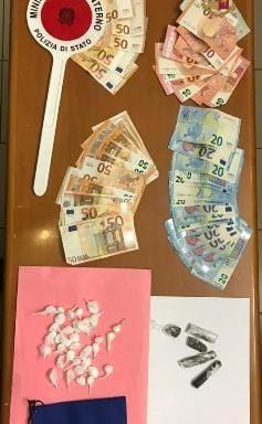 La droga e i contanti trovati dai controlli congiunti a Gaeta